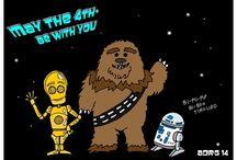Star wars / Dibujos y curiosidades sobre la Guerra de las Galaxias