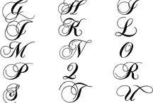 Tatouage D'iniciales
