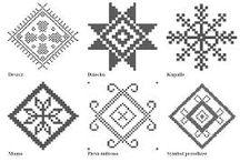 wzory słowiańskie