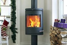 Combustion fireplaces