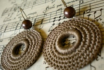 Crochet earings