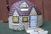 domky z kamenů