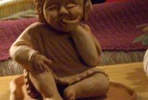 Ana Ceramista / Minhas esculturas cerâmicas e mosaicos