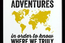 Travel around the world / - what's better than exploring the world?