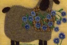 Flower embroidery / Ideas for using different stitches for flowers