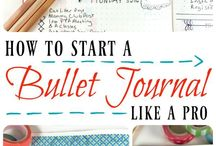 Bullet Journal / Bullet Journaling ideas and inspiration