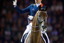 Hans Peter Minderhoud / One of the best Dutch dressage riders
