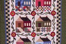 Domečky - patchwork