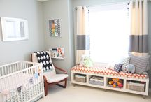 Nursery and kids bedroom inspiration / by Annekè Hill
