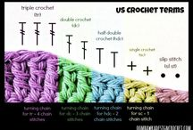 Sewing, knitting and crocheting