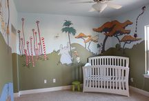 Dr Suess baby room / Ideas for mural painting for a friends baby room / by Rhonda Feinberg
