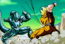 *Metal Cooler vs Goku* - dragon-ball-z