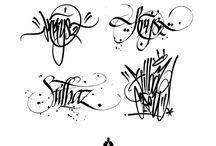 Graf lettering