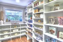 Wish we all had this Pantry / Custom Built Pantry, Pull-out Shelves & Slide-out Baskets
