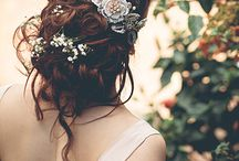 Wedding - bridal beauty and accessories / Bridal hair and makeup