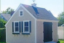 cottage outbuilding / collection of cute cottage outbuildings, sheds and garages