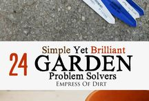 Garden Problem Solvers/Tips