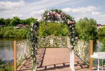 цветочная свадьба / мой первый крупный проект