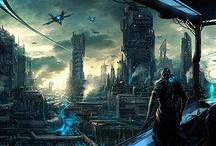 ambientes futuristas