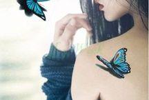 Tattoo Borboletas 3D