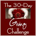 30 Day Giving Challenge