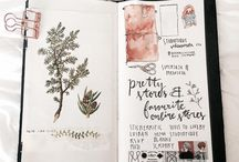 Art journal / Inspiration and ideas that help stimulate new creativity for art journals