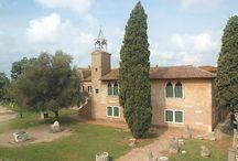 Museo Provinciale di Torcello - Venezia - Pokrajinski Muzej Torcello - Benekte / www.cultura.provincia.venezia.it/spazi/museo-di-torcello