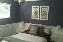 Guest Room Redesign / From horrible green to purple. / by Aislynn Radley