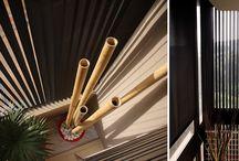 Bandalux cortinas verticales / cortinas verticales fabriadas en 89 o 127 mm mecanismo manual, manivela o motor. se pueden fabricar con curva a medida.