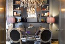 Christina S./ Vista, CA Client / Christina is in the Fashion industry and is turning a spare bedroom, into a vibrant office space.  My goal will be to transform this space, into a place that will encourage, creativity, and add  some funk to the equation.   / by Blondiesloft&Co  E-Decorating / E-Design / Interior Design.