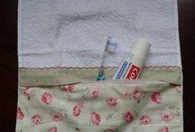 kit higiene de toalha