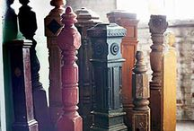 Newel posts & stair parts