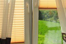Plisy || Rolety Plisowane || DOMOWE PIELESZE <3 / Sypialnia w domu rodzinnym. Do osłony okien użyliśmy rolet plisowanych. Plisy pozwalają na dowolną regulcję przepuszczania światła, dzięki systemowi poruszania góra - dół.