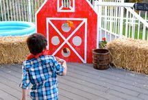 Farm (Barn) birthday party