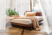 faux fur interior products / Faux fur products for the bedroom and living room; cushions, blankets and bedspreads.