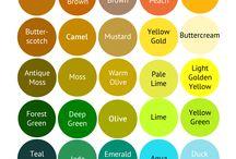 Pure Autumn Color Palette (Warm Autumn)