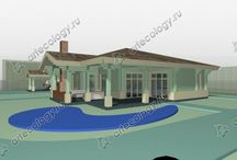 Классический угловой дом - Сlassic corner house