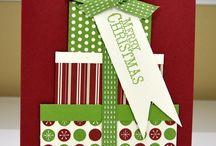 Christmas cards / layouts / by Tara Brewer Kramer