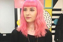 Farger på hår