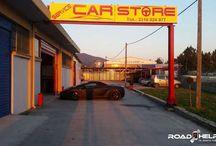 SERVICE CAR STORE / Συνεργείο αυτοκινήτων με ειδίκευση σε  Ferrari, Lamborghini, Porsche, Mercedes, Bmw, Group vw στη Θέρμη Θεσσαλονίκης