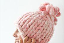 DIY: robustní pletené čepice