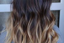 Hair Color I love / I love to get my hair colored professionally. Here's what inspires me.