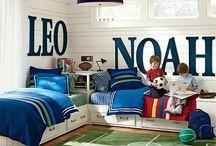 twin boys bedroom