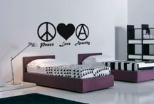 Love Peace Anarchy / Kakshyaachitra - Manufacturers and dealers of wall decals in India