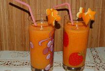ricette: centrifughe di frutta e verdura