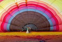 Hot Air Balloon Wedding in New Zealand / Hot Air Balloon Weddings in NZ