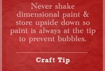 Clever craft/misc tips / by Heather Lubell