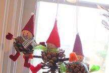 Jouluaskartelut! X'mas crafts!