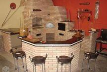 Bancadas e cozinhas
