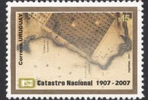 Maps On Stamps / All maps have a different appeal!  http://blog.stampmagazine.co.uk